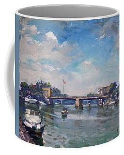 Cloudy Day At Tonawanda Gateway Harbor Coffee Mug