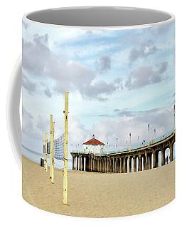 Cloudy Day In Manhattan Beach Coffee Mug