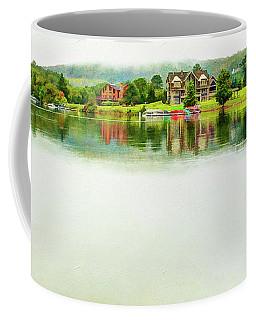 Cloudy Day On The Lake Coffee Mug