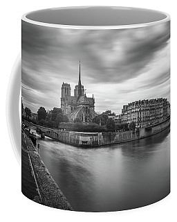 Cloudy Day On The Seine Coffee Mug