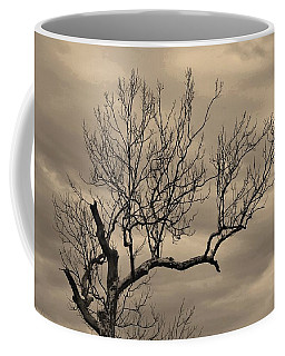 Cloudy Sky Tree Coffee Mug