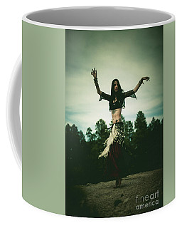 Cloudy Spin - Belly Dance Coffee Mug