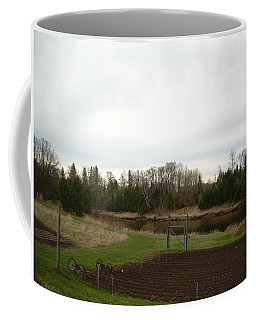 Coffee Mug featuring the photograph Cloudy Spring Dawn After Rain by Kent Lorentzen