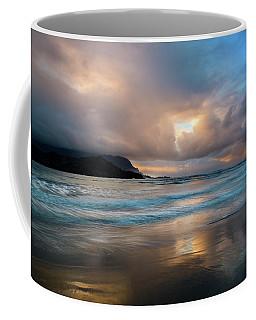 Cloudy Sunset At Hanalei Bay Coffee Mug