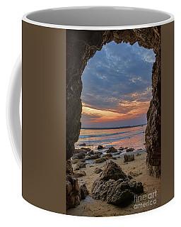 Cloudy Sunset At Low Tide Coffee Mug