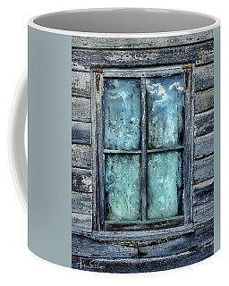 Cloudy Window Coffee Mug