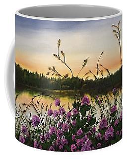 Clover Sunrise  Coffee Mug