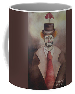 Clown Coffee Mug by Marlene Book