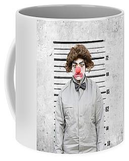 Clown Mug Shot Coffee Mug
