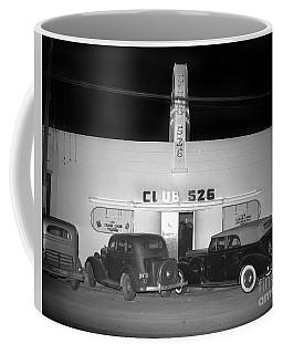 Club 526  Henry Franci, Salinas 1941 Coffee Mug