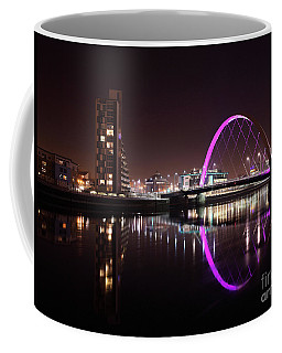 Clyde Arc Night Reflections Coffee Mug