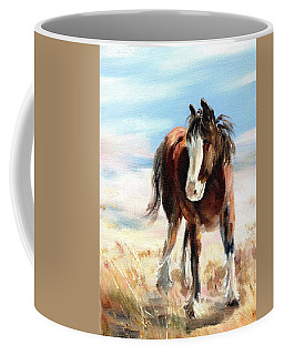 Clydesdale Foal Coffee Mug