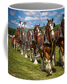 Budweiser Clydesdale Horses Coffee Mug