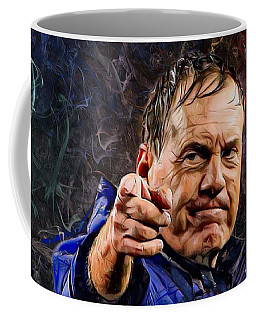 Coach Bill Belichick Coffee Mug