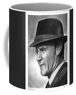 Coach Tom Landry Coffee Mug