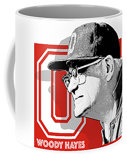 Coach Woody Hayes Coffee Mug