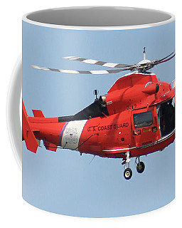 Coast Guard Helicopter Coffee Mug by Jimmie Bartlett