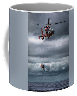 Coast Guard Rescue Operation  Coffee Mug