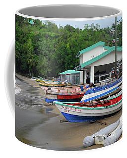 Coffee Mug featuring the photograph Coast Line by Gary Wonning