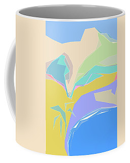 Coast Of Azure Coffee Mug