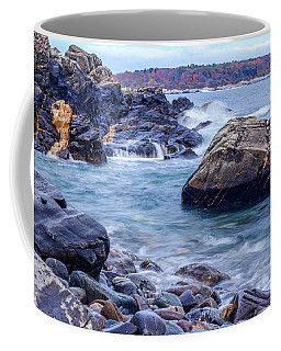 Coast Of Maine In Autumn Coffee Mug