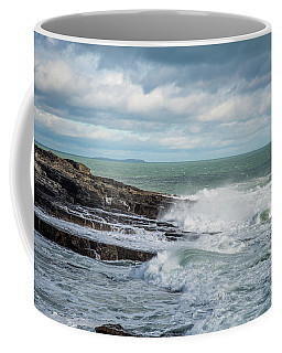 Coast Off The Hook Lighthouse Coffee Mug by Martina Fagan