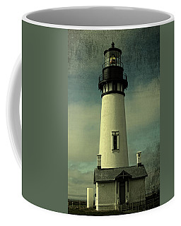 Coastal Breeze At Yaquina Head Coffee Mug