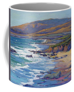 Coastal Cruising 8 / San Simeon Coffee Mug