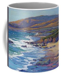 Coastal Cruising 8, San Simeon Coffee Mug