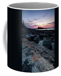 Coastal Dawn, New Harbor, Maine #8172 Coffee Mug