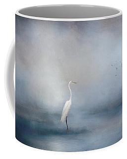 Coastal Egret Coffee Mug