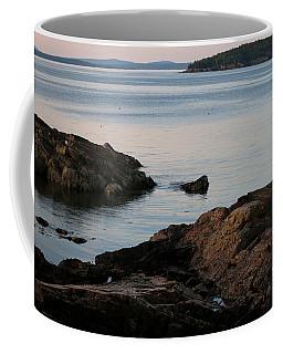 Coastal Last Light Coffee Mug by Living Color Photography Lorraine Lynch
