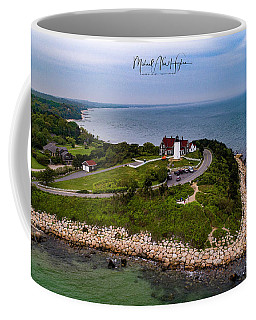 Coastal Nobska Point Lighthouse Coffee Mug