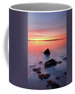 Coffee Mug featuring the photograph Coastal Sunset Kintyre by Grant Glendinning