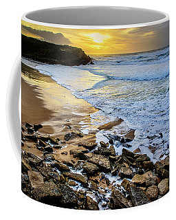 Coffee Mug featuring the photograph Coastal Sunset by Marion McCristall