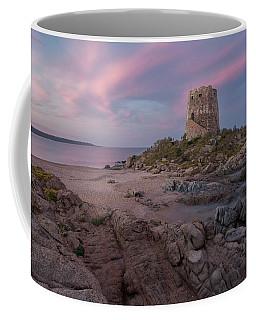 Coastal Tower At Sunset Coffee Mug