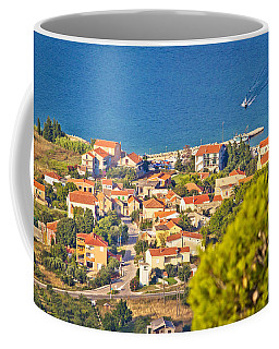 Coastal Village On Island Of Pasman Coffee Mug