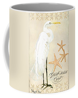 Coastal Waterways - Great White Egret Coffee Mug