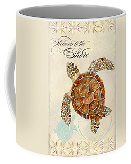Coastal Waterways - Green Sea Turtle Coffee Mug