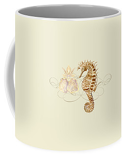 Coastal Waterways - Seahorse Rectangle 2 Coffee Mug