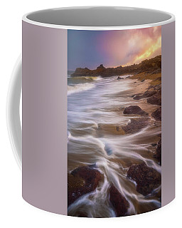 Coffee Mug featuring the photograph Coastal Whispers by Darren White