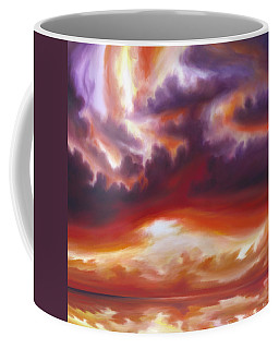 Coastline Coffee Mug by James Christopher Hill