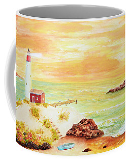 Coastline Lighthouse Coffee Mug