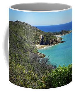 Coastline Views On Moreton Island Coffee Mug