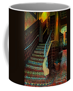 Cobblestone And Tile Coffee Mug
