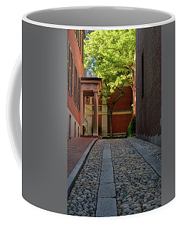 Coffee Mug featuring the photograph Cobblestone Drive by Michael Hubley