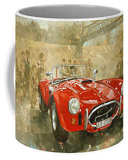 Cobra At Brooklands Coffee Mug