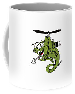 Cobra Coffee Mug by Julio Lopez