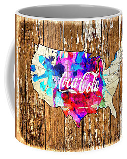 Coca Cola America Coffee Mug