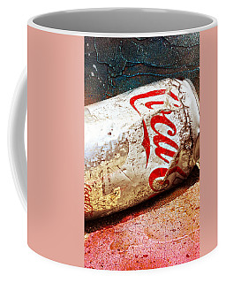 Coffee Mug featuring the photograph Coca Cola On The Rocks By Mike-hope by Michael Hope